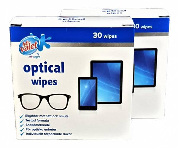 Bilde av Optical Wipes 30stk 2-pk