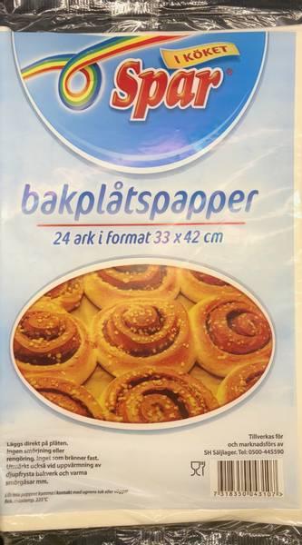 Bilde av Spar Bakepapir 24stk 33x42cm