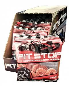 Bilde av Pit Stop Jordbær Hjul 14x50g HEL ESKE