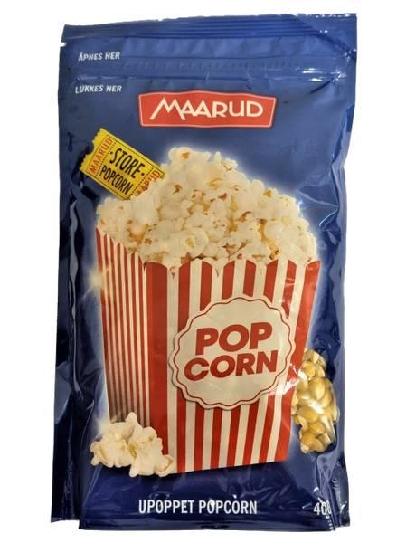 Bilde av Maarud popcorn 400g (upoppet)