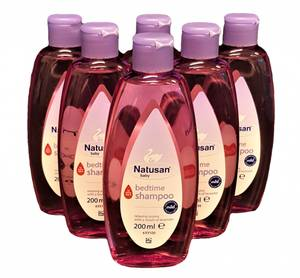 Bilde av Natusan baby Bedtime Shampoo 6x200ml HEL ESKE