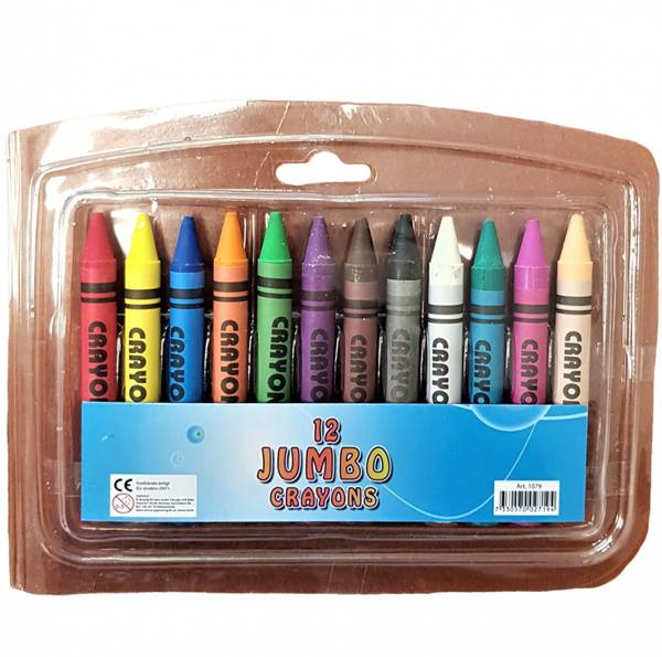 Bilde av Crayola Fargestifter 12-pk Jumbo