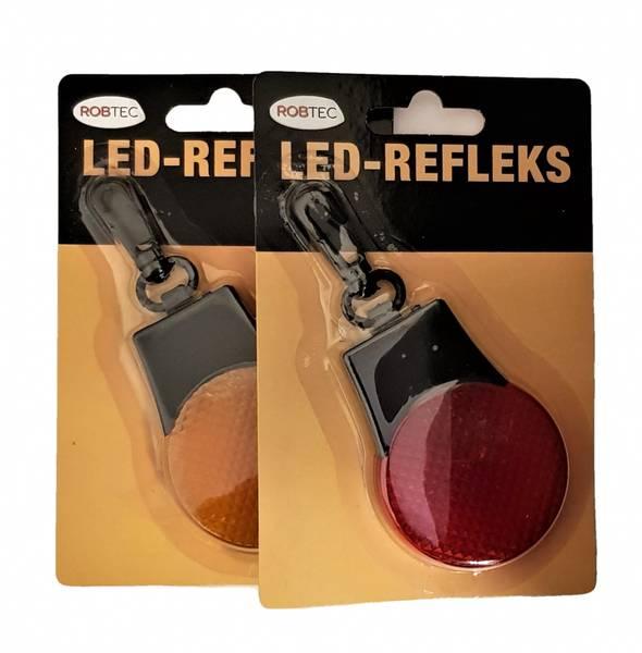 Bilde av Led-Refleks 2-pk Rød og Orange