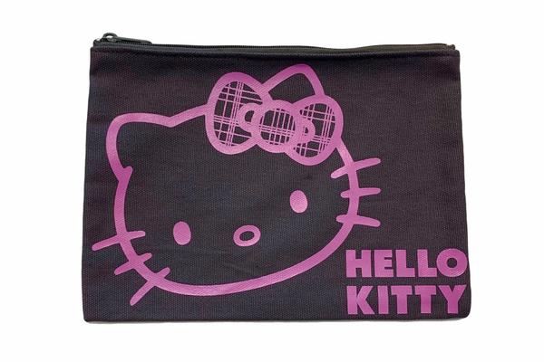 Bilde av Hello Kitty Liten Toalettmappe Svart