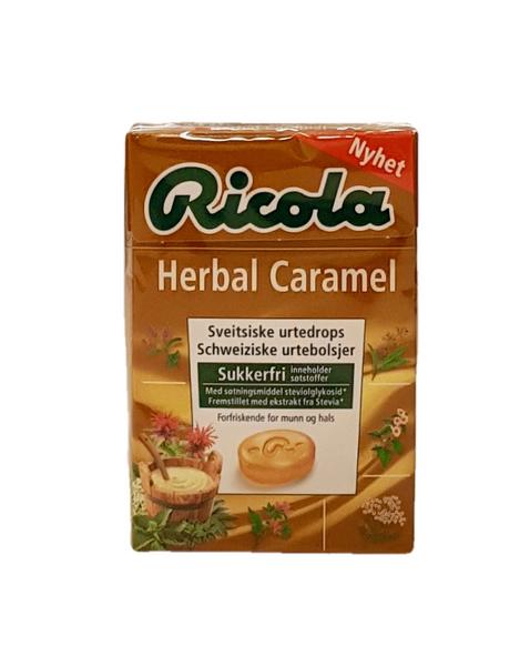 Bilde av Ricola Herbal Caramel Sukkerfri 50g