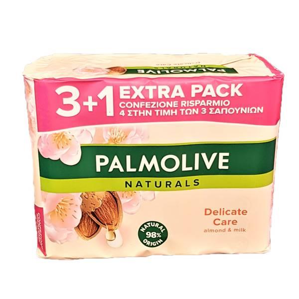 Bilde av Palmolive håndsåpe med duft av mandel 4x90g