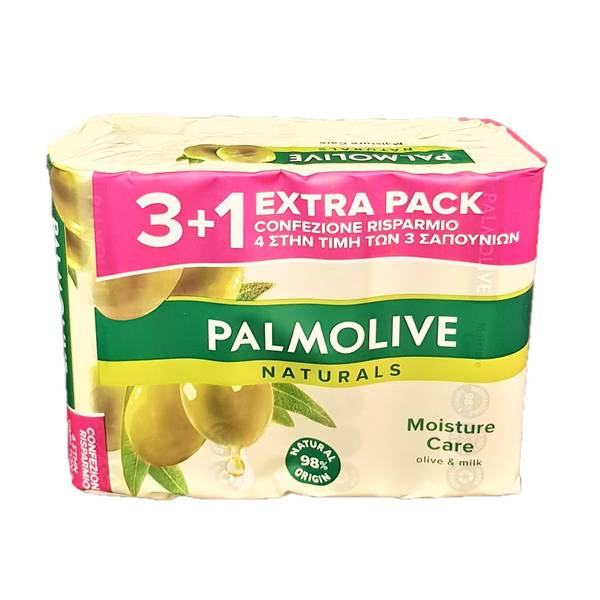 Bilde av Palmolive håndsåpe med duft av oliven 4x90g