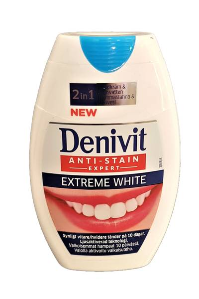 Bilde av Denivit 2in1 extreme white 75ml