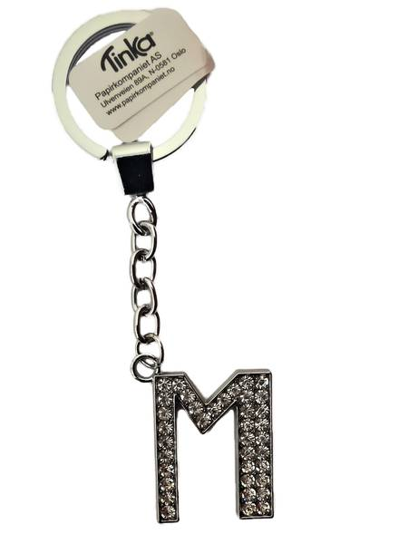 Bilde av Nøkkelring med bokstaven