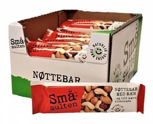 Bilde av Småsulten Nøttebar 15x44g HEL ESKE B/f 29.08.20