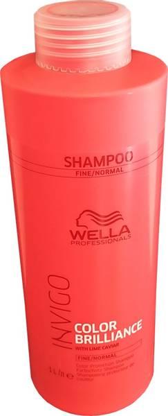 Bilde av Wella invigo color shampoo fint/normalt hår 1L