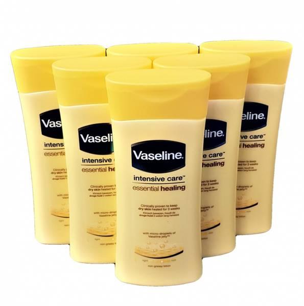Bilde av Vaseline Essential Healing 6x200ml HEL ESKE