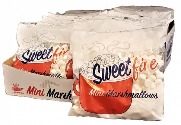 Bilde av Sweet Fire Mini Marshmallows 20x 100g HEL ESKE