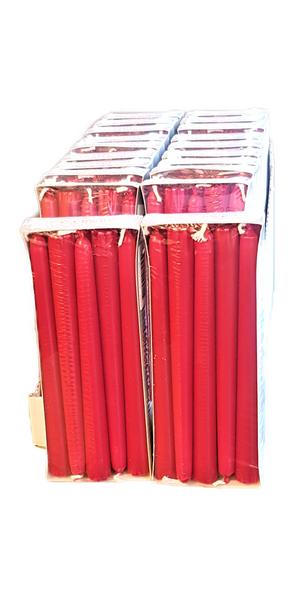 Bilde av First price Antikklys rød 21cm 20x10stk hel eske