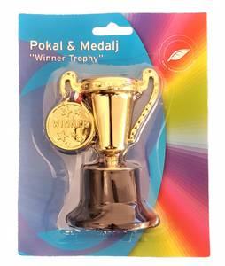 Bilde av Pokal m/medalje