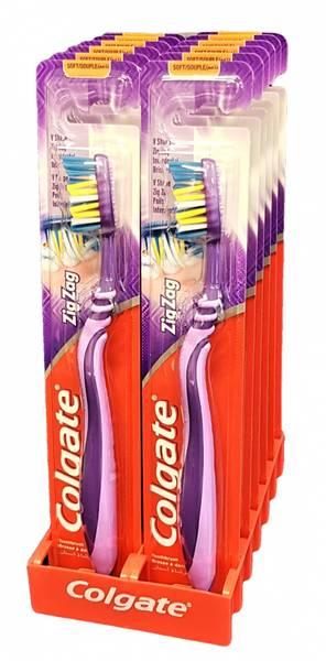 Bilde av Colgate Zig Zag Soft 12-pk HEL ESKE