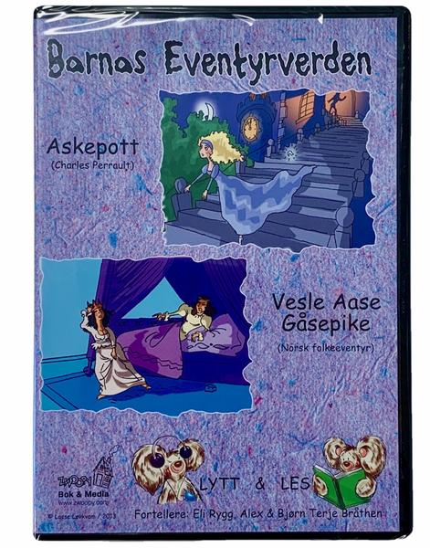 Bilde av Barnas Eventyrverden Lydbok - Askepott og Vesle