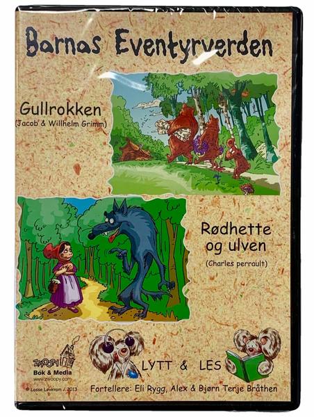 Bilde av Barnas Eventyrverden Lydbok - Rødhette og Ulven