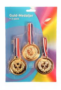 Bilde av Gull-Medaljer