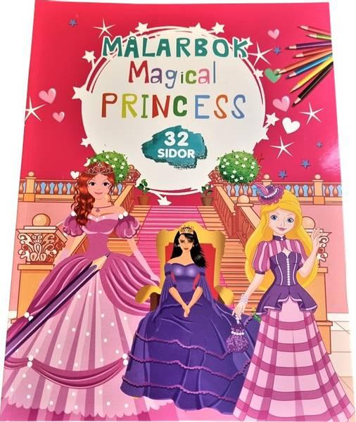 Bilde av Tegnebok Magical Princess 32 sider