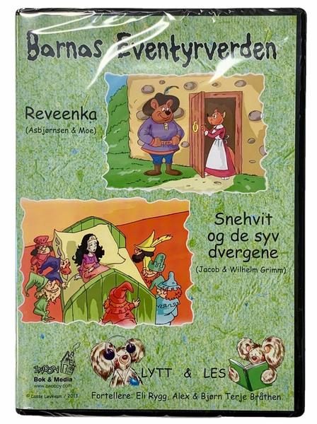 Bilde av Barnas Eventyrverden Lydbok - Snehvit og De Syv