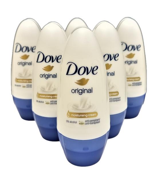 Bilde av Dove deoroll original 6x50ml HEL ESKE