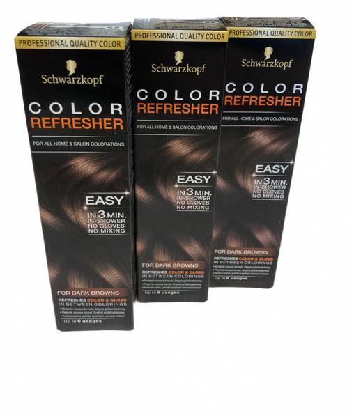 Bilde av Schwarzkopf hårfarge mørkbrun 3x75ml HEL ESKE