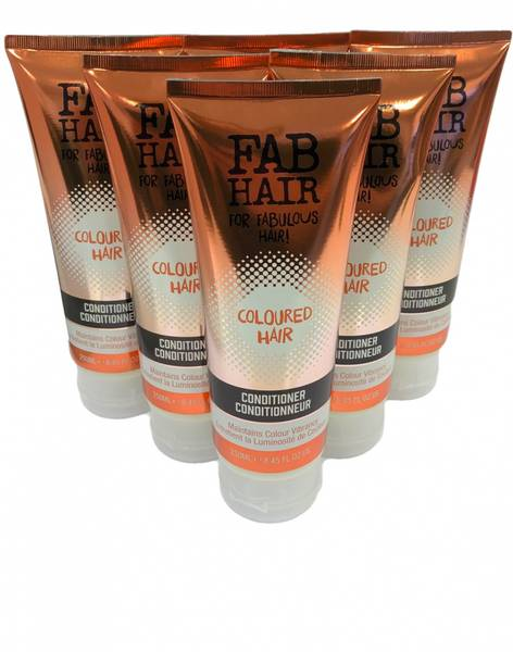 Bilde av Fab hair color balsam 6x250ml HEL ESKE