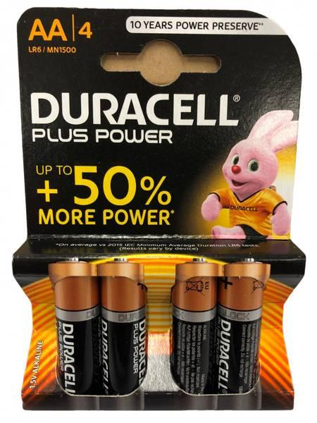 Bilde av Duracell Batteri AA 4pk