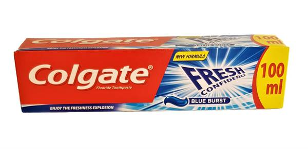 Bilde av Colgate fresh confidence blå tannkrem 100ml