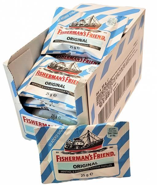 Bilde av Fisherman Original Lysblå 24x25g HEL ESKE
