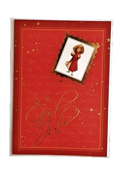 Bilde av Julekort med konvolutt