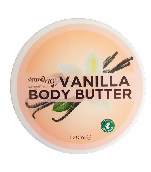 Bilde av Derma v10 body butter vanilla 220ml