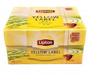 Bilde av Lipton Yellow Te 50 poser