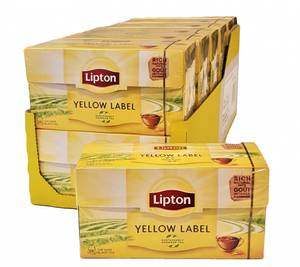 Bilde av Lipton Yellow Te 12x25 poser HEL ESKE