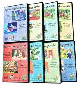 Bilde av Barnas Eventyrverden FULL SAMLING 1-8 lydbok