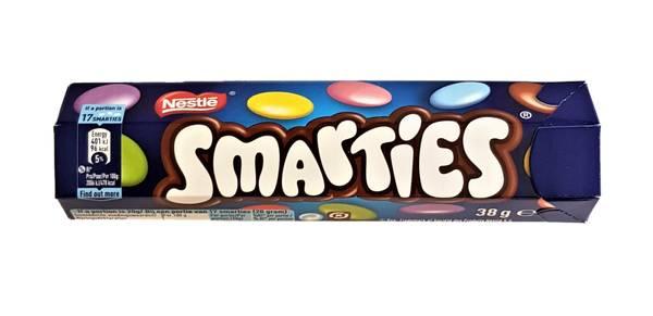 Bilde av Smarties hexatube 38g