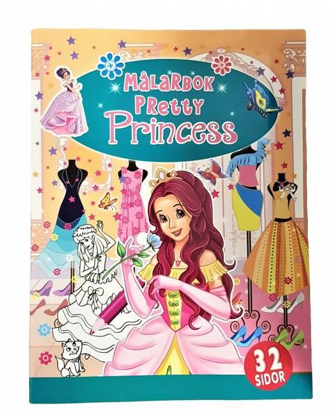 Bilde av Tegnebok Pretty Princess 32sider