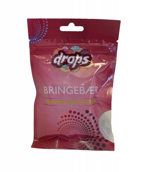 Bilde av Drops Bringebær 48g