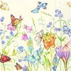 Bilde av Butterflies And Blossoms White Lunch