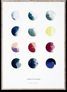 Bilde av Moon Phases 30x40 cm