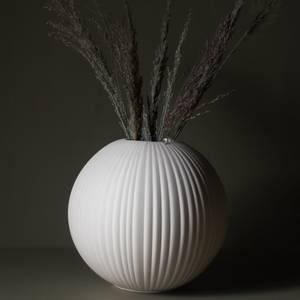 Bilde av Vena Stor beige keramikvas