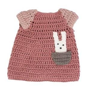 Bilde av Dokkeklede, kjole, pudderrosa