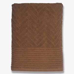 Bilde av Brick badehandkle 70x133, tobacco
