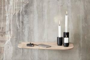 Bilde av Create Me Candle Holder 7,5cm Black