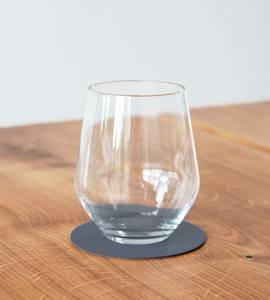 Bilde av Glass Mat Circle dark blue