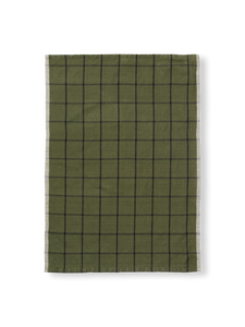 Bilde av Hale Tea Towel - Green/Black