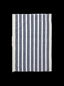 Bilde av Hale Tea Towel - Off-White/Blue
