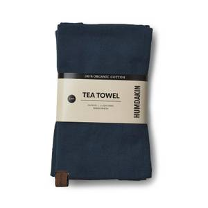 Bilde av ORGANIC TEA TOWEL - 2 PACK - SEA BLUE