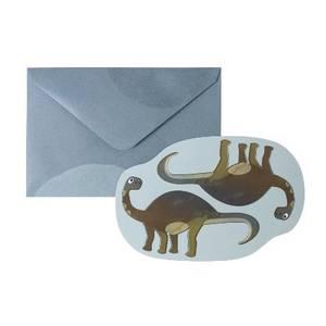 Bilde av Kort med konvolutt, Dino